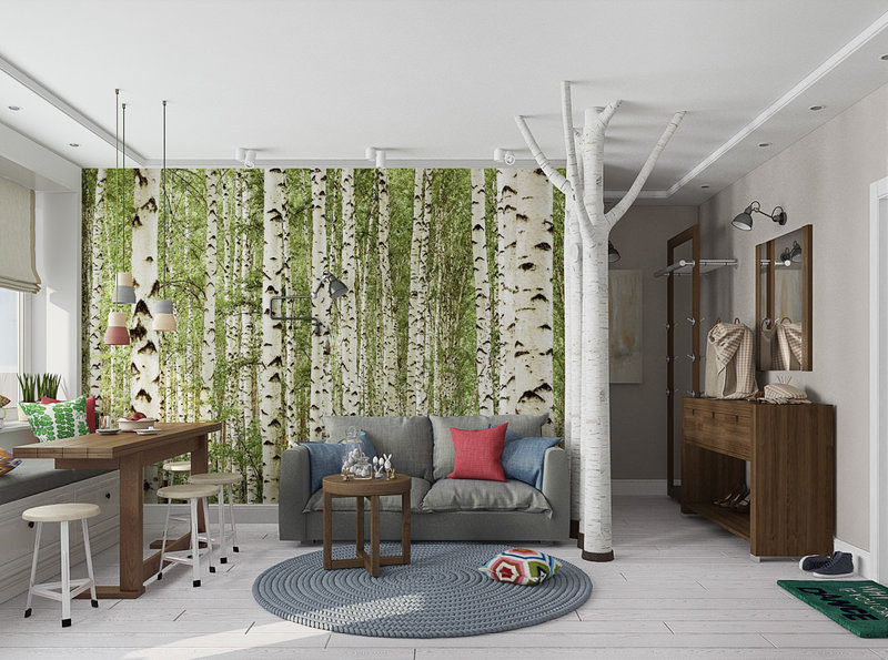 Экологичный дизайн интерьера в Пензе