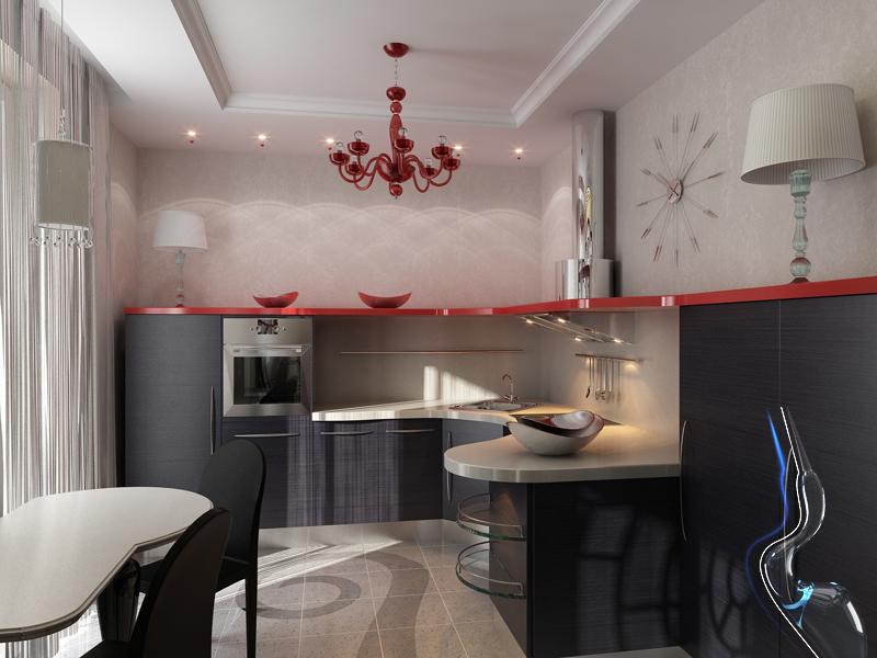 Дизайн квартиры в Пензе Аквамарин