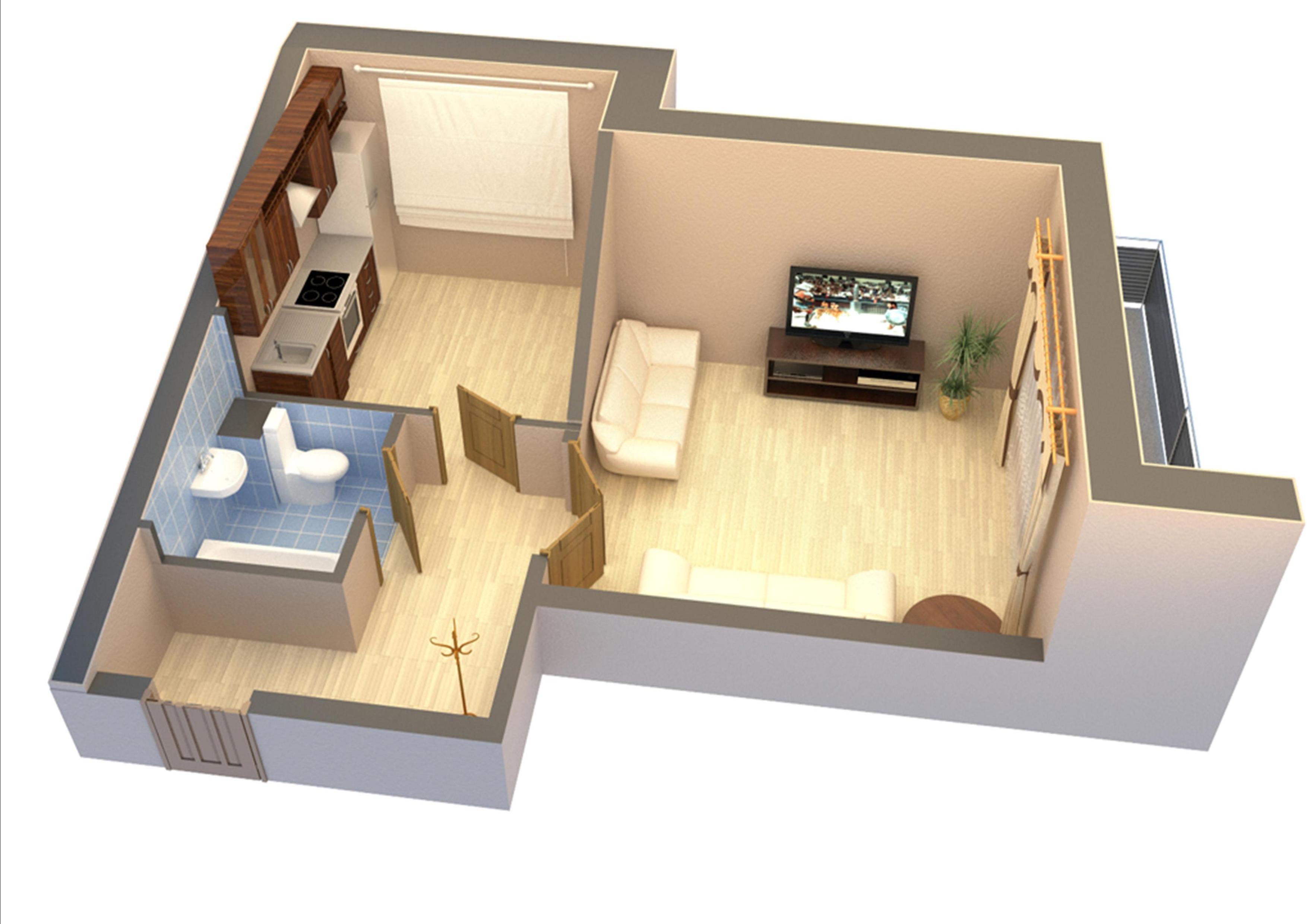 3д схема квартиры