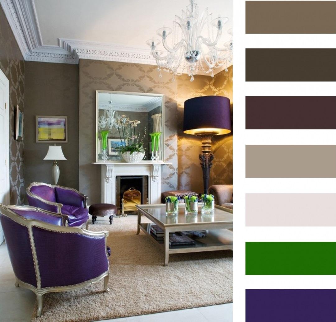 Палитра цвет в оформлении помещения