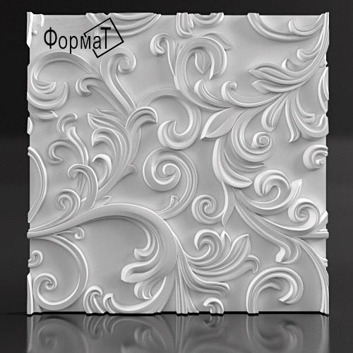 """3D панели из гипса от """"Студия уюта Аквамарин"""""""